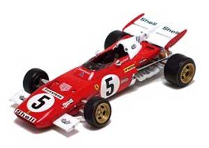 イクソ 1/43 フェラーリ 312B2 NO5 ニュルブルクリンクGP 1971年 ウイナー  アンドレッティ