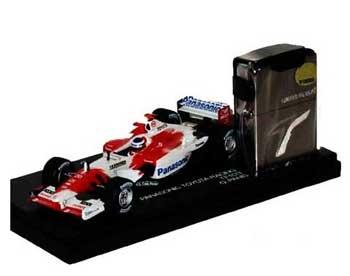 ミニチャンプス 1/43 TOYOTA(トヨタ) F1 TF103 パニス TOYOTA(トヨタ)オリジナルZIPPOライター付限定品