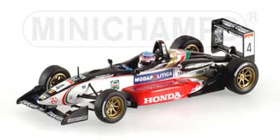 1/43 TSコレクション ダラーラ 無限 F301 佐藤琢磨 2001年 F3 ザンドブート マルボロマスターズ ウイナー