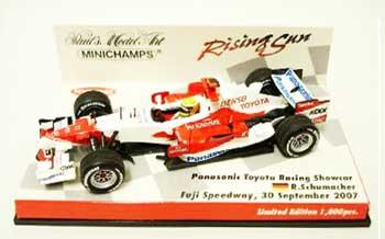 ミニチャンプス 1/43 TOYOTA(トヨタ) 2007ショーカー ライジングサン台紙 ラルフ
