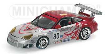 1/43 ポルシェ 911 GT3 RSR  NO80 2005 ルマン24