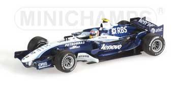 1/43 ウィリアムズF1 2007ショーカー ブルツ