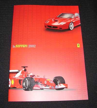輸入書籍 LA FERRARI 2002 英語&イタリア語版 全40ページ