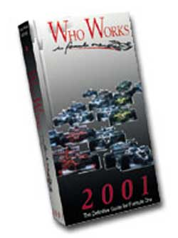 Who Works in Formula One 2001(絶版・洋書)