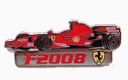 BOLAFFI フェラーリ F2008 ピンバッチ