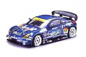 エブロ 1/43 ニッサン エンドレス アドバン Z スーパーGT 2005 (ダークブルー)