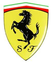 フェラーリ 3Dタイプ SFステッカー(M)