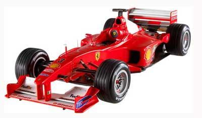 【SALE】マテル 1/18 フェラーリ F1 2000 シューマッハ 日本GP(エリートシリーズ) ノンドライバー仕様