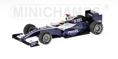 1/43 ウィリアムズ 2009ショーカー ロズベルグ