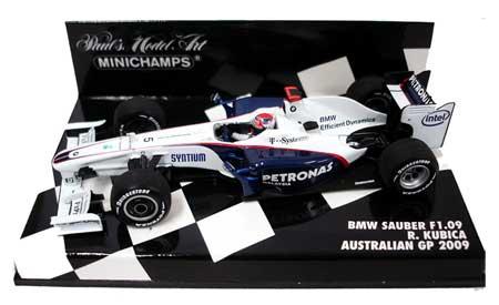 1/43 BMWザウバー F1.09  オーストラリアGP  クビサ