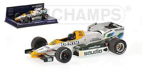 ミニチャンプス 1/43 ウィリアムズ FW09 J.ラフィー 1984