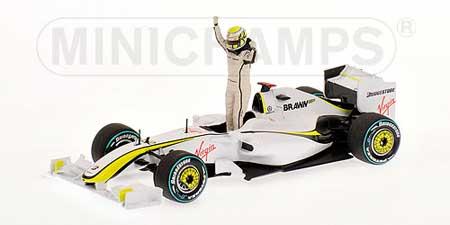1/43 ブラウンGP  BGP001 バトン オーストラリアGP 2009 優勝