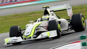 1/43 ブラウンGP BGP 001 バリチェロ 2009年オーストラリアGP  2位(限定)