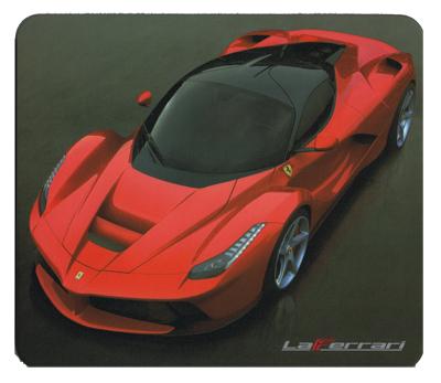 フェラーリストア限定 2014-2015 フェラーリ ラフェラーリ マウスパッド