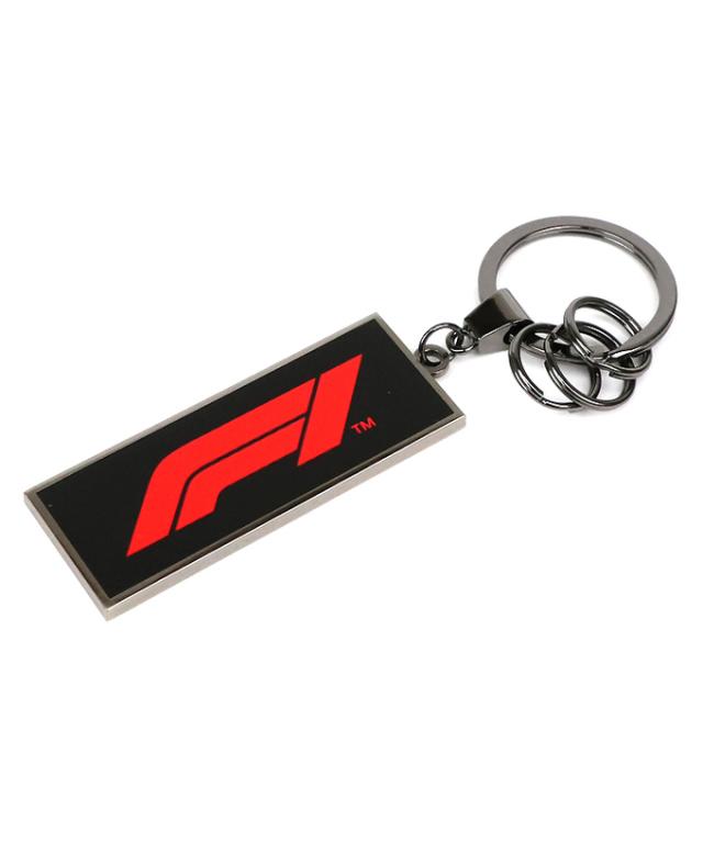 F1 オフィシャルコレクション Formula1ロゴ メタルキーホルダー