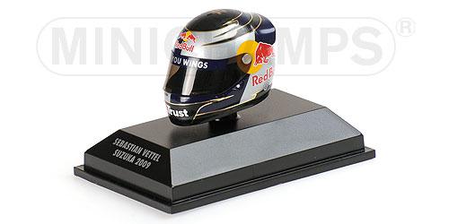 ミニチャンプス 1/8 アライ ヘルメット S.ベッテル 鈴鹿 (日本GP) 2009 限定1000pcs