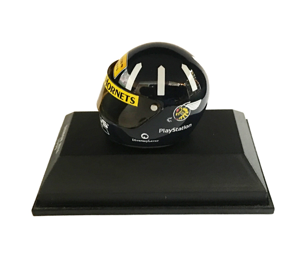 ミニチャンプス 1/8 D.ヒル 1999ヘルメット