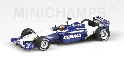 ミニチャンプス 1/43 ウィリアムズ BMW FW23 J.P.モントーヤ