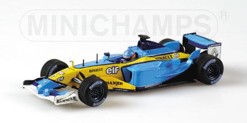 ミニチャンプス 1/43 ルノー F1 R23 F.アロンソ 2003