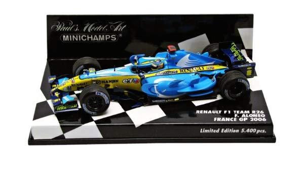 ミニチャンプス 1/43 ルノー F1 R26 F.アロンソ 2006 フランスGP限定モデル