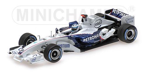ミニチャンプス 1/43ザウバー BMW C24B ニック・ハイドフェルド F1バレンシアテスト 2006年2月