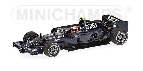 1/43 AT&T ウィリアムズ FW30 中嶋一貴 バルセロナ テスト (2008年2月1~3日)