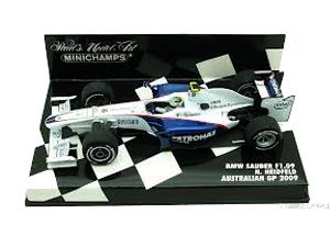 ミニチャンプス 1/43 ザウバー F1.09 N.ハイドフェルド 2009年オーストラリアGP