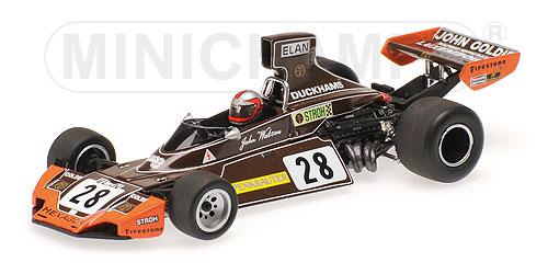 """ミニチャンプス 1/43 ブラバム フォード BT44 """"JOHN GOLDIE RACING"""" J.ワトソン 1974"""