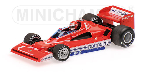 ミニチャンプス 1/43 ブラバム アルファ ロメオ BT45C N.ラウダ 1978