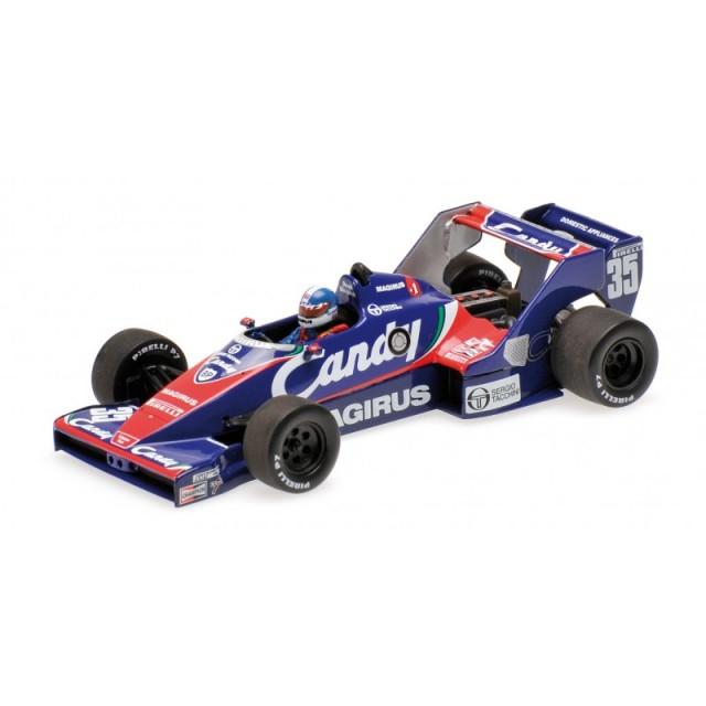 ミニチャンプス 1/43 トールマン ハート TG183 D.ワーウィック 1983年オランダGP NO.35 限定504台 トールマン1stチャンピオンシップポイント