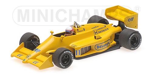 ミニチャンプス 1/43 ロータス ホンダ 99T 中嶋悟 1987年モナコGP