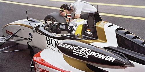ミニチャンプス 1/43 ダラーラ 無限 F303 N.ロズベルグ 2003年マカオGP