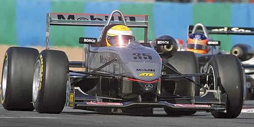 ミニチャンプス 1/43 ダラーラ メルセデス F302 L.ハミルトン 2004年F3 ユーロ シリーズ ノリスリンク 優勝