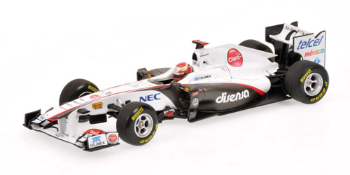 1/43 ザウバー F1 チーム C30 小林 可夢偉 2011