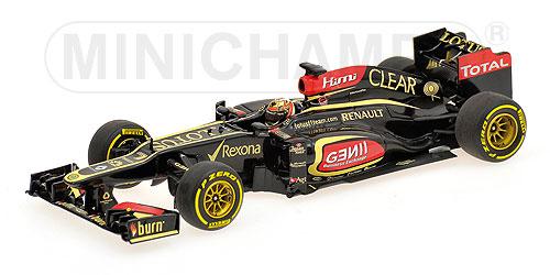 ミニチャンプス 1/43 ロータス F1 チーム ルノー E21 K.ライコネン 2013