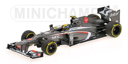 1/43 ザウバー F1 2013ショーカー E.グティエレス