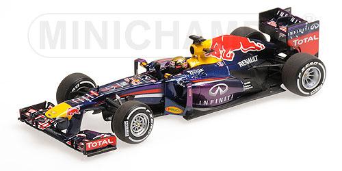 ミニチャンプス 1/43 レッドブルRB9 S.ベッテル  2013年ドイツGP優勝