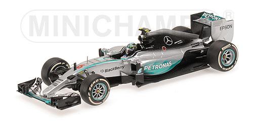 【ミニカーフェア対象】ミニチャンプス 1/43 メルセデス W06 N.ロズベルグオーストラリアGP 2015