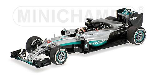 ミニチャンプス 1/43 メルセデス W07 L.ハミルトン 2016 オーストラリアGP
