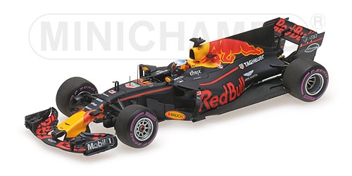 ミニチャンプス 1/43 レッドブル RB13 D.リカルド 2017年 オーストラリアGP