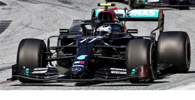 ミニチャンプス 1/43 メルセデス W11 V.ボッタス 2020年オーストリアGP優勝