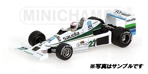 【7/23入荷予定ご予約商品】ミニチャンプス 1/43 ウィリアムズ フォード FW06 A.ジョーンズ  1979年USA GP WEST 1979 3位入賞