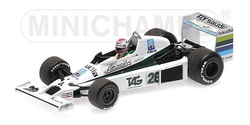 ミニチャンプス 1/43 ウィリアムズ フォード FW06 C.レガツォーニ 1979