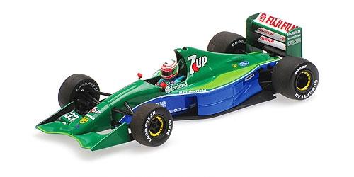 【再入荷】ミニチャンプス 1/43 ジョーダン フォード 191 A.D.チェザリス 1991年カナダGP 4位入賞