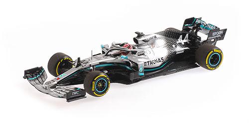 ミニチャンプス 1/43 メルセデス F1 W10  L.ハミルトン バーレーンGP 2019年度 初優勝 PMA特注