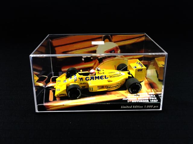 MBA別注 1/43 ロータス・ホンダ 99T 中嶋悟 1987年日本GP No.11 当店オリジナルタバコロゴモデル