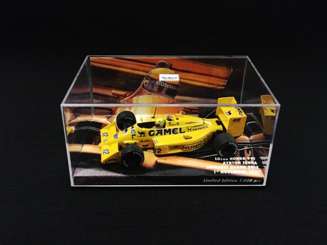 MBA別注 1/43 ロータス・ホンダ 99T A.セナ 1987年日本GP No.12 当店オリジナルタバコロゴモデル