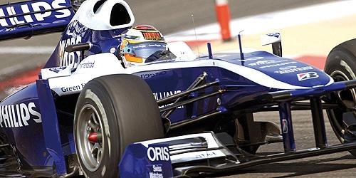 ミニチャンプス 1/43 ウィリアムズ FW32 N.ヒュルケンベルグ 2010