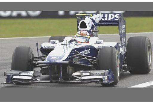ミニチャンプス 1/43 ウィリアムズ FW32 R.バリチェロ 2010年ベルギーGP300TH GP