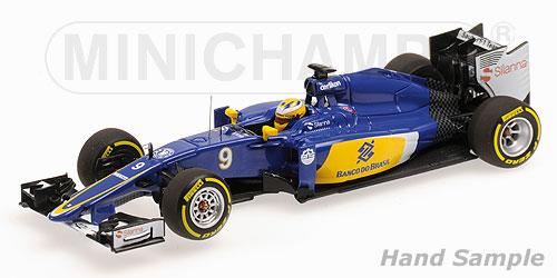 ミニチャンプス  1/43 ザウバー F1チーム フェラーリ C34 M.エリクソン 2015(レジン製)